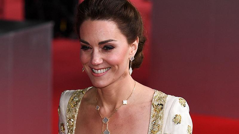 BAFTA 2020: Кейт Мидълтън в Alexander McQueen