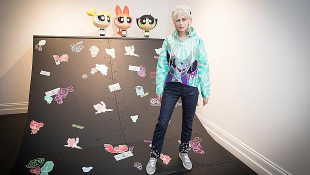 """Британска дизайнерка се вдъхнови от анимацията """"Реактивните момичета"""""""