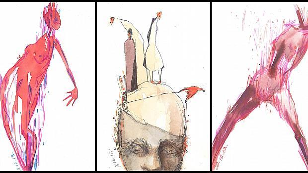 """Модният редактор на ELLE Константин Стойнов с изложба """"ИНТИМНО В РИСУНКИ"""""""
