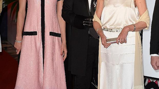 Карл Лагерфелд триумфира на Le Bal de la Rose 2015