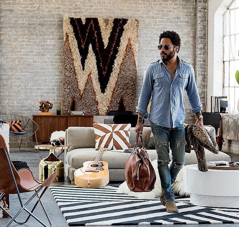 Лени Кравиц създаде колекция мебели
