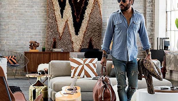 Лени Кравиц пусна колекция с мебели