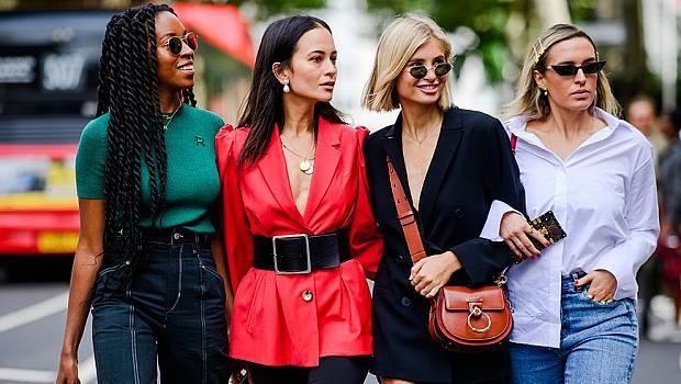 75 вдъхновяващи street style визии от London Fashion Week, пролет-лято 2019