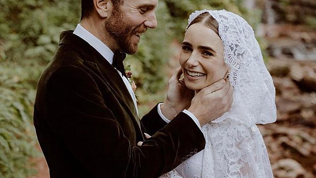 Актрисата Лили Колинс се омъжи за режисьора Чарли Макдауъл