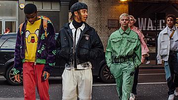 Колоритен Street Style от лондонската седмица на мъжката мода