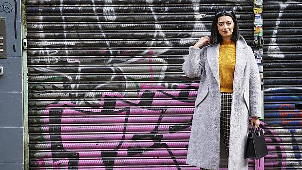 25 street style решения с палто за прохладните дъждовни дни