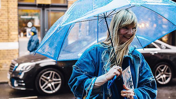 С чадър в ръка: 24 street style визии под дъжда