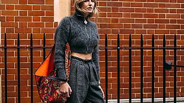 Стрийт стайл вдъхновения с широки панталони
