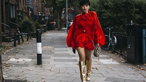 Код червено! 30 street style идеи, с които ще се отличите