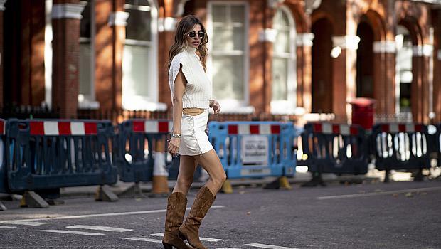 Street style с ботуши и пола: Ето как може да ги комбинирате