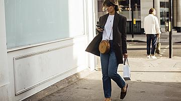 Ето как момичетата от Лондон и Милано носят сакото си: 20 вдъхновяващи идеи