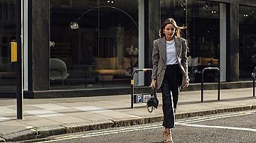 30 елегантни street style визии с блейзър. Само си изберете!