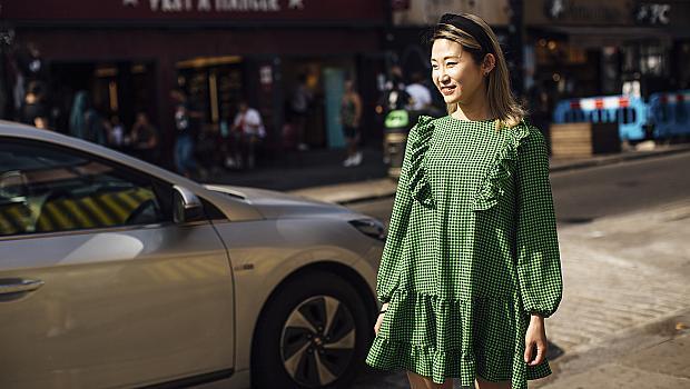 35 street style идеи с рокля от модните столици