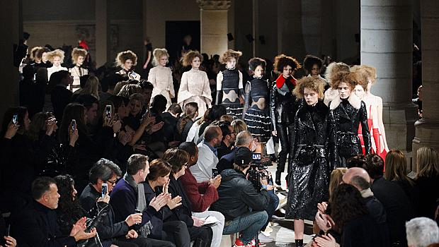 Париж зима 2015: Alexander McQueen