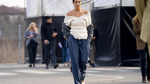 Street style с пуловер: 30 идеи от модните столици
