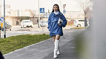 Най-красивите рокли от улиците на Милано