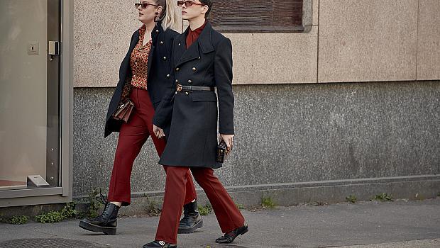Как момичетата от Милано носят любимото си палто? 30 ефектни street style визии