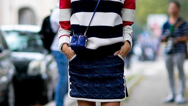 Street style с пуловер за пролет 2015