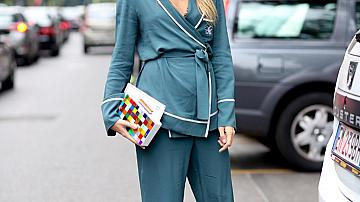 Street style в пижама стил