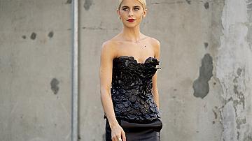 30 вечерни street style идеи с рокля от модните столици