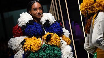 Колекция есен-зима 2019 на United Colors of Benetton от ревюто в Милано
