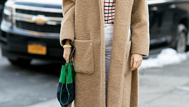 Обемно палто за зимата