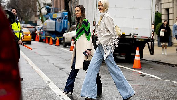 Ето как модните диктаторки от Ню Йорк носят широките панталони