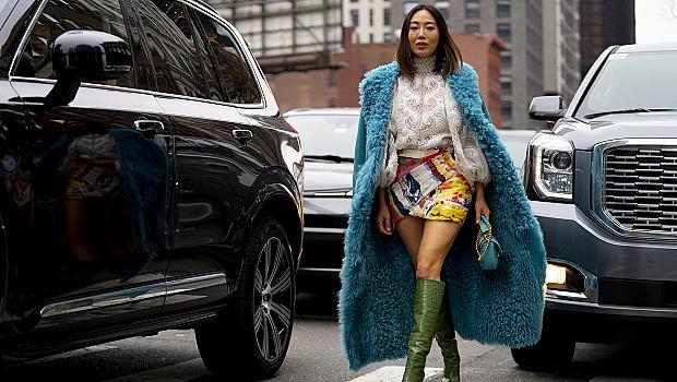 Street style с кожени ботуши на висок ток: 19 секси визии от модните столици