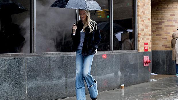 Как да се обличате в дъжда?