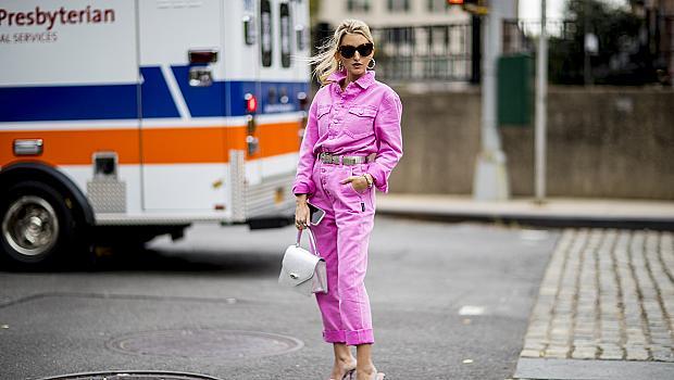 С любов към барби визията: 20 розови стайлинг идеи от Копенхаген и Ню Йорк