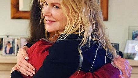 След дълга раздяла Никол Кидман се събра отново с майка си