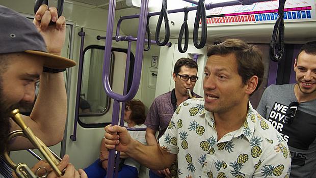 Вижте какво направи Орлин Павлов в метрото