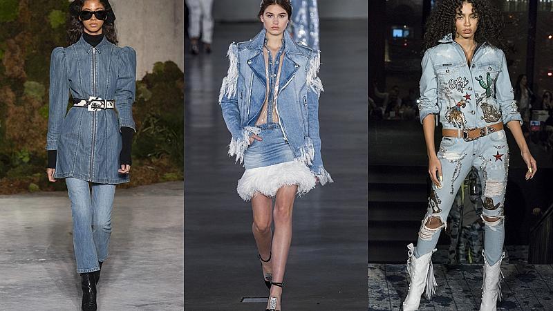 От любов към денима: най-доброто от модния подиум тази зима