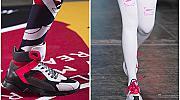 Дълги чорапи + Маратонки = Тренди комбинация