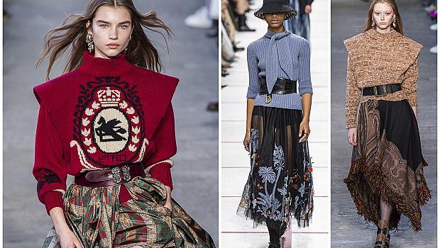 Пуловер + Колан: 20 вдъхновяващи визии