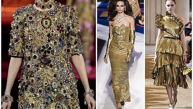 25 златни рокли, достойни за принцеси!