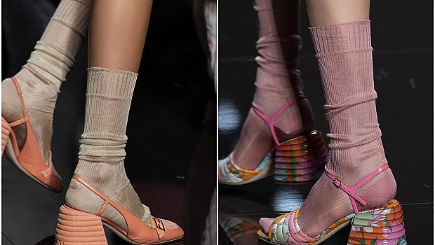 Сандали + Чорапи = Актуална комбинация за пролет 2020