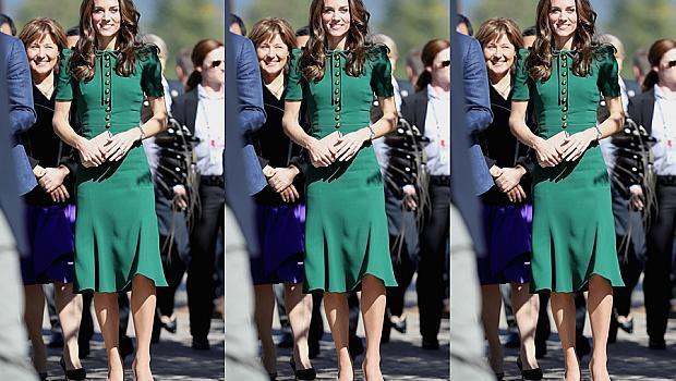 Можете да купите зелената рокля на Кейт Мидълтън