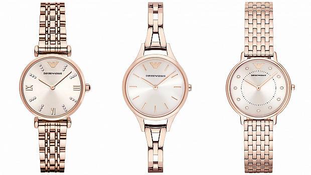 Стил и елегантност в новите модели бижута и часовници на Emporio Armani