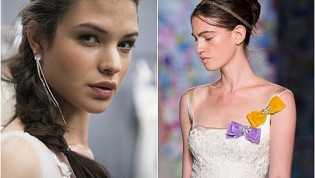 24 супер модерни и лесни прически за булки от модния подиум
