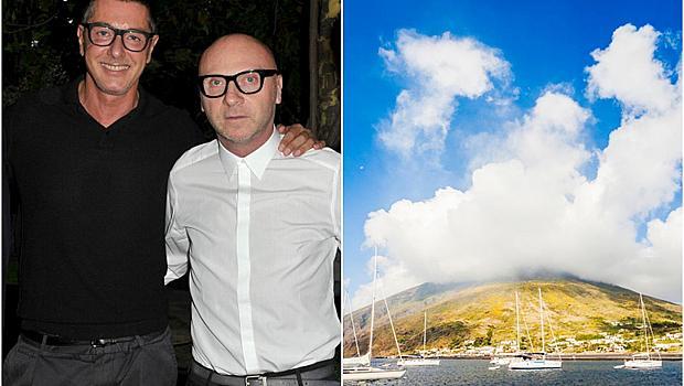 Къде почиват дизайнерите: Доменико Долче и Стефано Габана