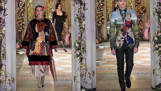 Dolce&Gabbana възкръснаха с Ренесансова Alta Moda в Милано