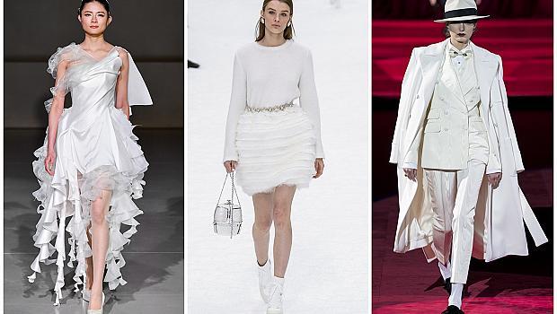 Ако ви липсва снегът през зимата, облечете се в бяло