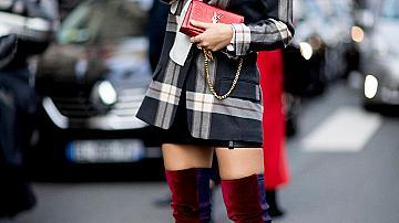 С какво да носим любимите ни червени обувки