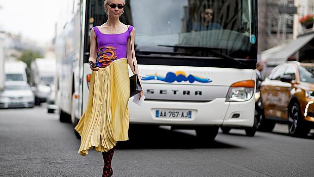 STREET STYLE: Момичетата и мъжките седмици на модата