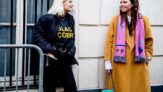 Street style от Париж- ден 1 и 2 - Седмица на модата / есен-зима 2017/2018