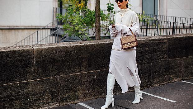С какво да съчетаем дългата феерична пола? 14 ефектни street style предложения