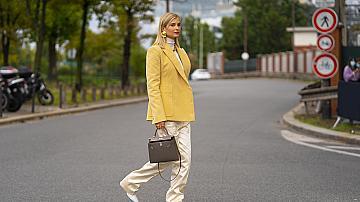 Избираме street style в жълто за още по-горещи и слънчеви летни дни