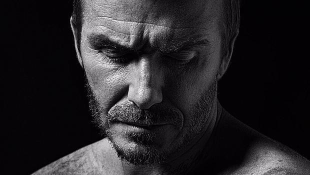 """Кадри от изложбата """"David Beckham: The Man"""""""