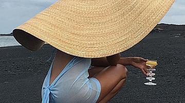 Шапката на лято 2018 от Jacquemus